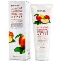FarmStay All-In-One Whitening Peeling Gel Apple - Пилинг-гель с экстрактом яблока, 180 мл