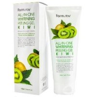 FarmStay All-In-One Whitening Peeling Gel Kiwi - Пилинг-гель с экстрактом киви, 180 мл