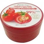 Фото FarmStay Moisture Soothing Gel Tomato - Гель увлажняющий, успокаивающий, многофункциональный с томатом, 300 мл