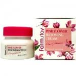 Фото FarmStay Pink Flower Cherry - Крем для лица с экстрактом цветов вишни, 100 мл