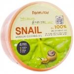 Фото FarmStay Snail Moisture Soothing Gel - Многофункциональный смягчающий гель с экстрактом улитки, 300 мл