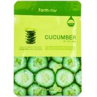 FarmStay Visible Difference Mask Sheet Cucumber  - Тканевая маска с натуральным экстрактом огурца, 23 мл