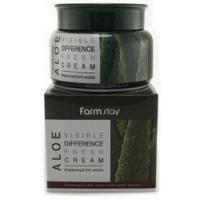 FarmStay Visible Fresh Cream Aloe - Крем увлажняющий с экстрактом алоэ, 100 г