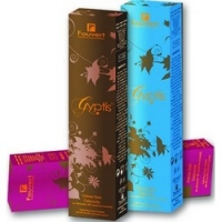 Fauvert Professionnel Gyptis - Краска для волос, тон 5-17, холодный шоколад, 100 мл