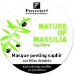 Фото Fauvert Professionnel Nature Of Massilia Masque Peeling Saphir - Маска Сапфир-пилинг с микро-гранулами жожоба, 80 мл