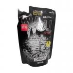 Фото Kumano cosmetics Charcoal Deodorant Body Soap - Жидкое мыло для тела дезодорирующее лечебное c древесным углем мужское, сменная упаковка, 350 мл