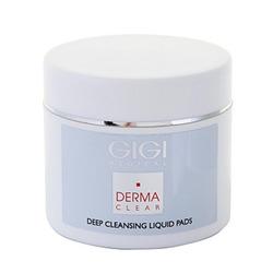 Фото GIGI Cosmetic Labs Derma Clear Deep Cleansing Liquied Pad - Очищающие ватные диски 100