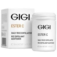 GIGI Ester C Daily Rice Exfoliator - Эксфолиант для очищения и микрошлифовки кожи, 50 мл