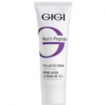 Фото GIGI Nutri-Peptide Lactic Cream - Крем пептидный увлажняющий с 10% молочной кислотой, 50 мл