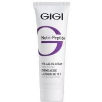 GIGI Nutri-Peptide Lactic Cream - Крем пептидный увлажняющий с 10% молочной кислотой, 50 мл
