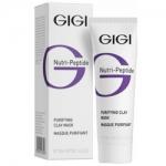 Фото GIGI Nutri-Peptide Purifying Clay Mask Oily Skin - Маска глиняная очищающая для жирной кожи, 50 мл