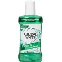 Global White - Ополаскиватель освежающий для полости рта, 300 мл