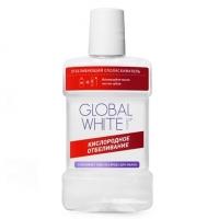Global White - Ополаскиватель отбеливающий для полости рта с перборатом, 300 мл