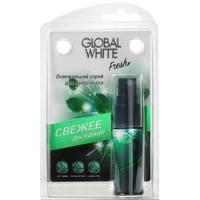 Global White - Спрей освежающий для полости рта, 15 мл