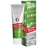 Global White Natural Whitening - Зубная паста Натуральное отбеливание, 100 мл