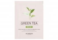 Купить Skinfood Beauty in a Food Mask Sheet Green Tea - Маска для лица тканевая с экстрактом зеленого чая, 18 мл