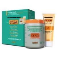Купить Guam Fanghi D'Alga - Набор для обертывания: Маска антицеллюлитная с охлаждающим эффектом+Гель-лифтинг укрепляющий