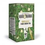 Фото Heath and Heather - Чай Зеленый Органик, 20  пакетов в индивидуальной упаковке НН493