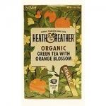 Фото Heath and Heather - Чай Зеленый со вкусом апельсина Органик, 20  пакетов в индивидуальной упаковке