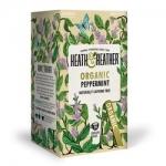 Фото Heath and Heather - Напиток Мята Органик, 20  пакетов в индивидуальной упаковке