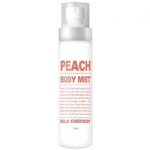 Фото Hello Everybody Peach Body Mist - Увлажняющий мист для тела с экстрактом персика, 150 мл
