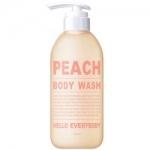 Фото Hello Everybody Peach Body Wash - Гель для душа с экстрактом персика, 500 мл