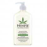 Фото Hempz Sensitive Skin Herbal Moisturizer - Молочко для тела увлажняющее, Чувствительная Кожа, 500 мл
