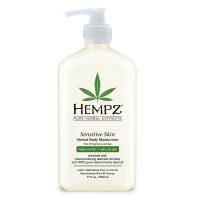 Купить Hempz Sensitive Skin Herbal Moisturizer - Молочко для тела увлажняющее, Чувствительная Кожа, 500 мл