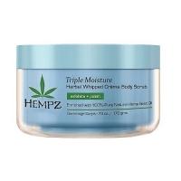 Купить Hempz Triple Moisture Herbal Whipped Creme Body Scrub - Скраб для тела, Тройное увлажнение, 176 гр