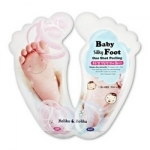 Фото Holika Holika Baby Silky Foot One Shot Peeling - Пилинг для ног жидкий, 20 мл*2