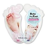 Holika Holika Baby Silky Foot One Shot Peeling - Пилинг для ног жидкий, 20 мл*2