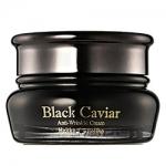 Фото Holika Holika Black Caviar Antiwrinkle Cream - Крем питательный лифтинг, Черная икра, 50 мл