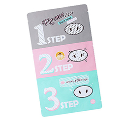 Фото Holika Holika Pignose clear black head 3 step kit - Набор средств для очистки пор, 3-х ступенчатый, 7 г