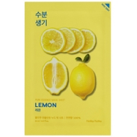 Holika Holika Pure Essence Mask Sheet Lemon - Маска тканевая тонизирующая лимон, 20 мл