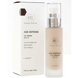 Фото Holy Land Age Defense CC Cream Light SPF50 - Корректирующий крем, светлый, 50 мл