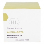 Фото Holy Land Alpha-Beta & Retinol Restoring Cream - Восстанавливающий крем, 50 мл