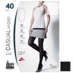 Фото Ibici Casual 40 Hydro - Прозрачные колготки цвет черный, размер 2