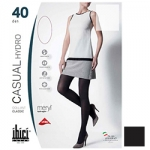 Фото Ibici Casual 40 Hydro - Прозрачные колготки цвет черный, размер 4