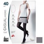 Фото Ibici Casual 40 Hydro - Прозрачные колготки цвет серый, размер 1