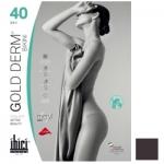 Фото Ibici Gold 40 Derm Bikini - Прозрачные колготки цвет кофе, размер 3