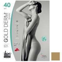 Купить Ibici Gold 40 Derm Bikini - Прозрачные колготки цвет светло-телесный, размер 4