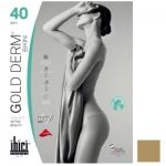 Фото Ibici Gold 40 Derm Bikini - Прозрачные колготки цвет светло-телесный, размер 5