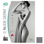 Фото Ibici Nude 40 Derm - Прозрачные колготки цвет серый, размер 3