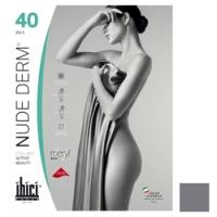 Купить Ibici Nude 40 Derm - Прозрачные колготки цвет серый, размер 3