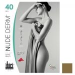 Фото Ibici Nude 40 Derm - Прозрачные колготки цвет телесный, размер 2