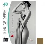 Фото Ibici Nude 40 Derm - Прозрачные колготки цвет телесный, размер 3