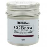 Фото CC Brow Brown - Хна для бровей в баночке (коричневый), 10 г
