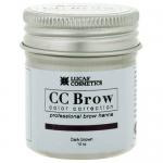Фото CC Brow Dark Brown - Хна для бровей в баночке (темно-коричневый), 10 г