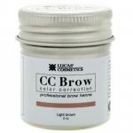 Фото CC Brow Light Brown - Хна для бровей в баночке (светло-коричневый), 5 г