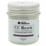 Фото CC Brow Grey Brown - Хна для бровей в баночке (серо-коричневый), 5 г